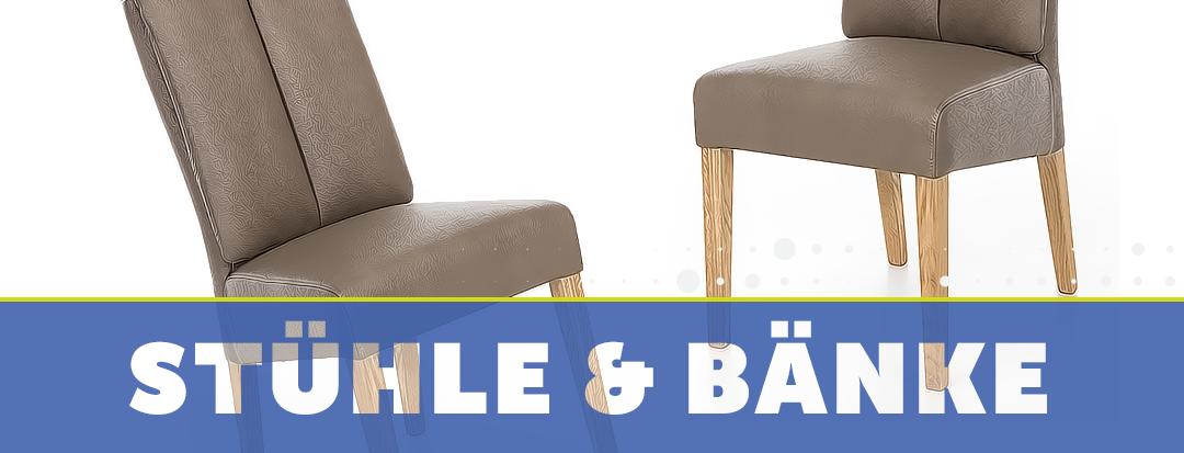 Stühle + Bänke