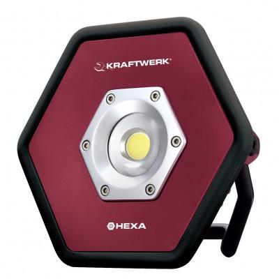 10 W COB LED-Akku-Industrie- Baustrahler