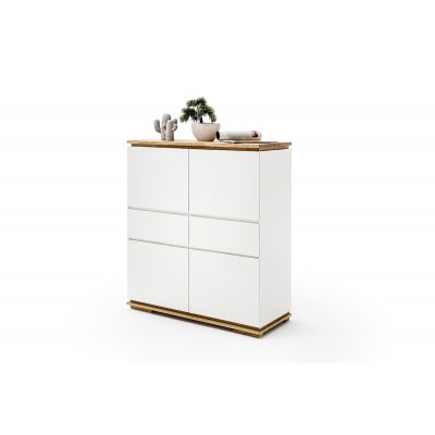 Chiaro Highboard weiss 002