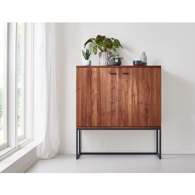 Filia Design Massivholz Highboard