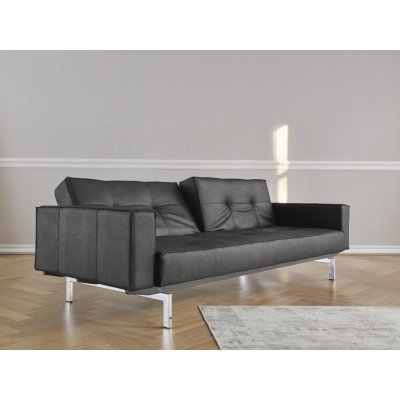 Splitback Sharp Chrom Innovation Sofa