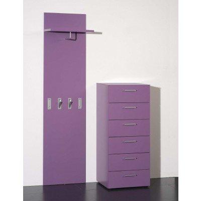 Lack Garderobe Typ C2 Komplett