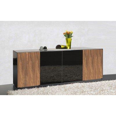 Garda Living Sideboard 444 200cm Black Noce