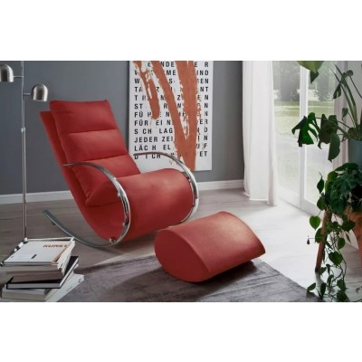 York Relax Chair Red