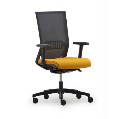 Bürodrehstuhl mit Netzrücken, EASY PRO