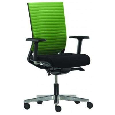 Bürodrehstuhl mit Polsterrücken, EASY PRO LINE