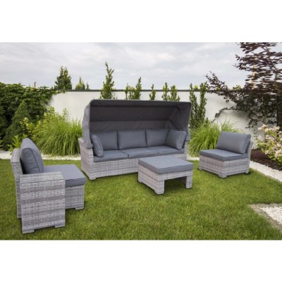 Family Wicker Gartenlounge