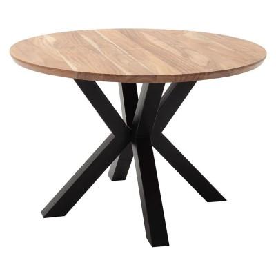 Saragossa Massivholz Tisch rund D120