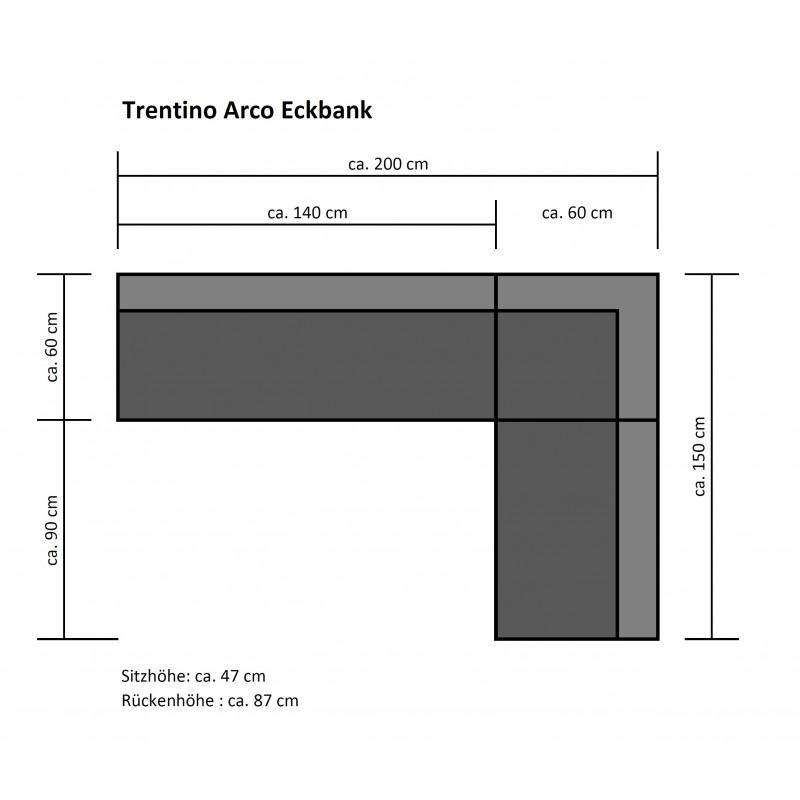 Trentino Arco 1 Eckbank tpls 001