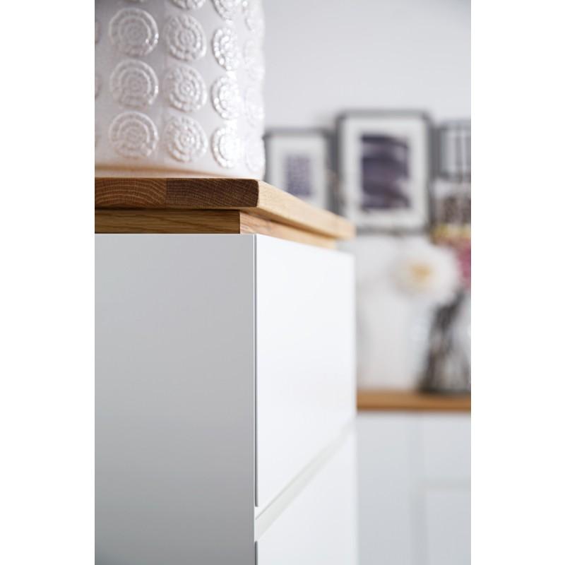 Chiaro TV Möbel weiss Detail 002