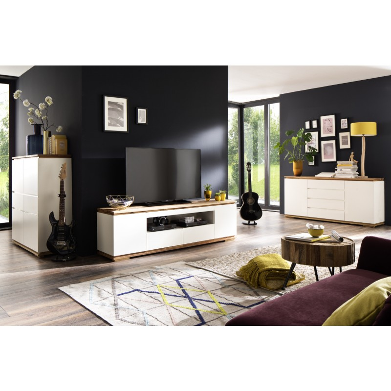 Chiaro TV Möbel weiss ambiente001