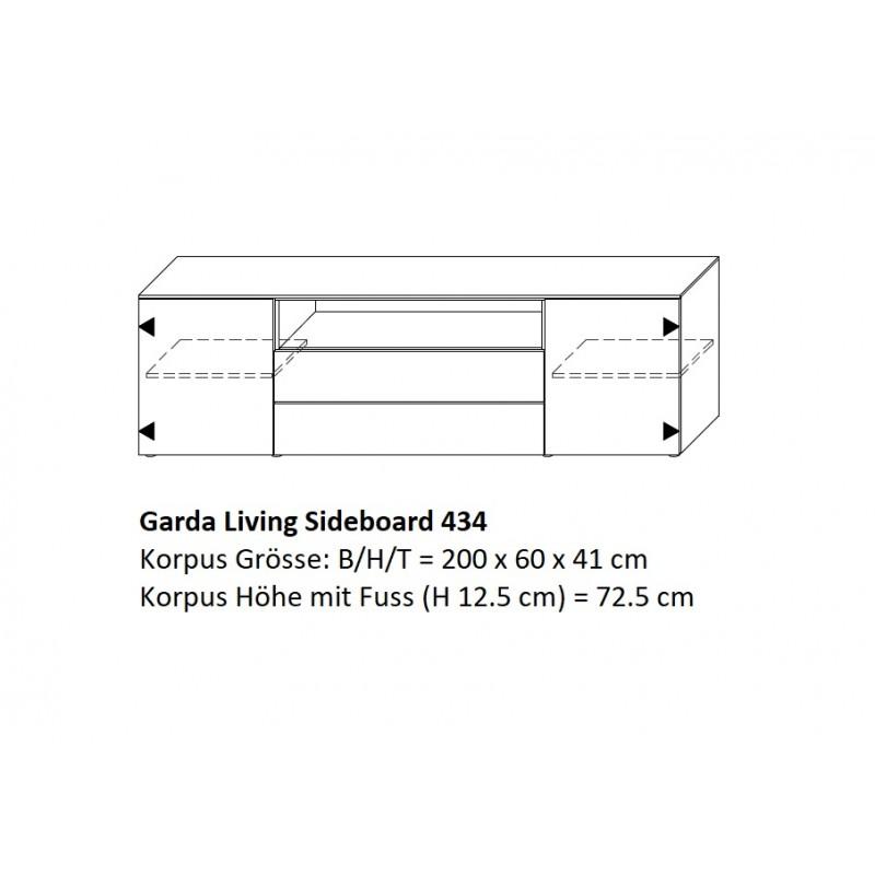 Topo Lifestyle Gara Living Sideboard 434 04