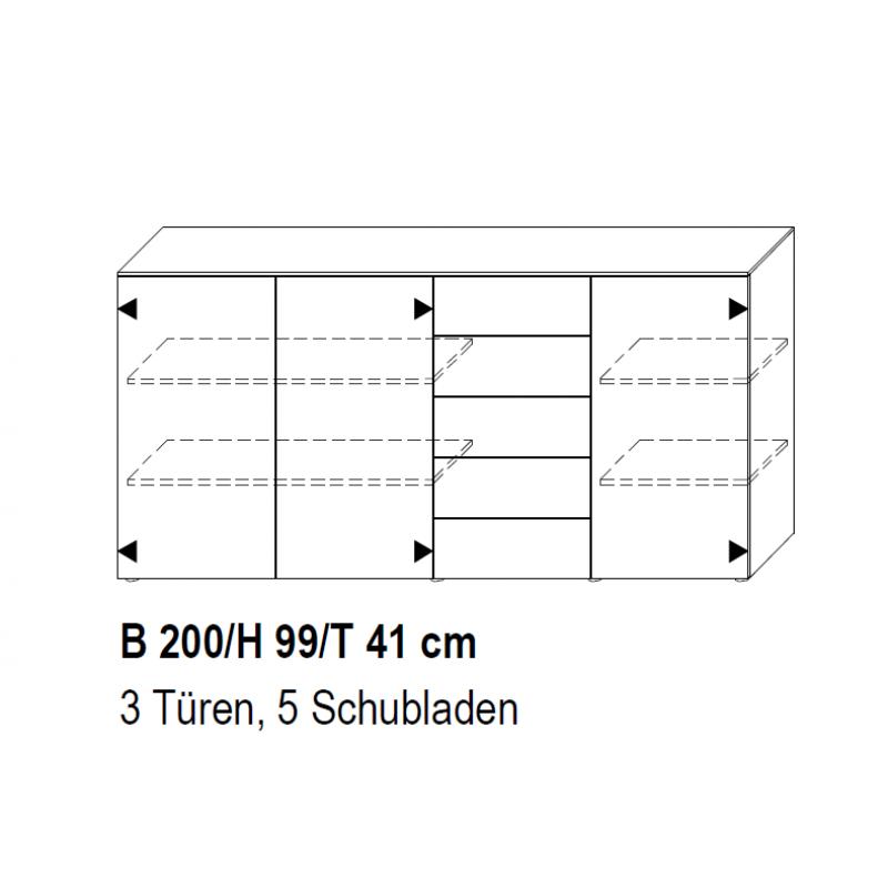 Garda Sideboard 458k Topo 001
