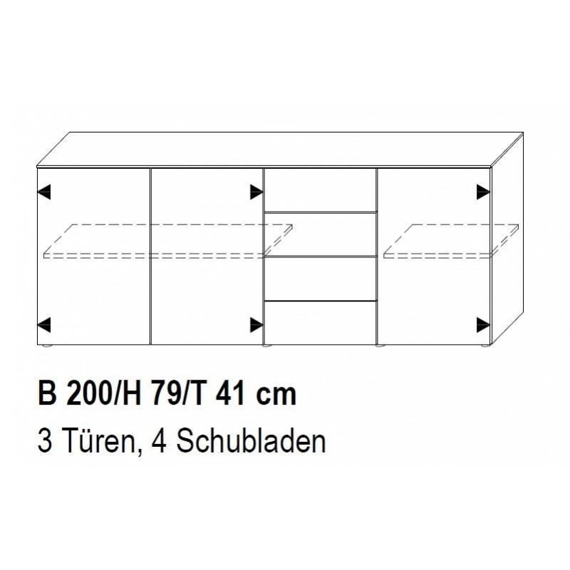 Modular Garda living Sideboard 447 N tpls 002