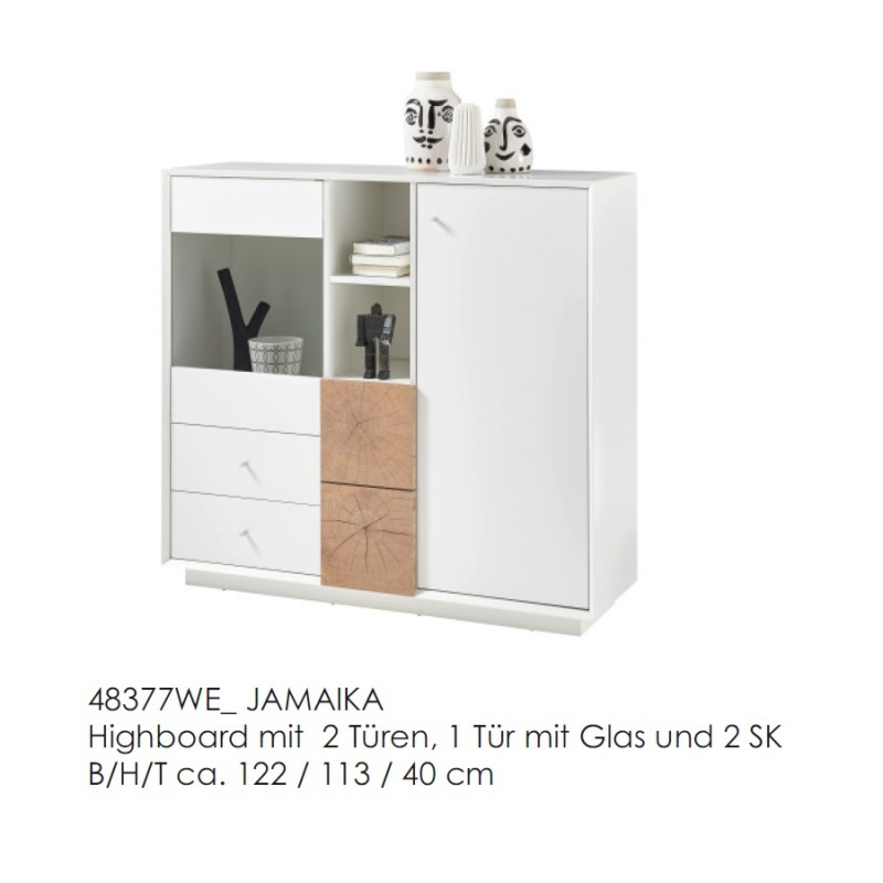 Jamaika Highboard 48377WE