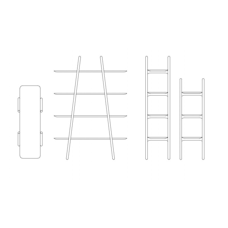 Topo Malin Design Bücherregal 05