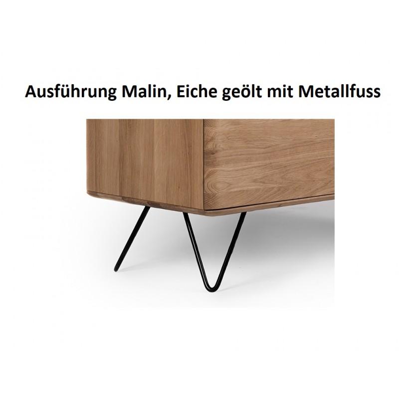 Malin TV Möbel Gerade mit Metallfuss tpls 008