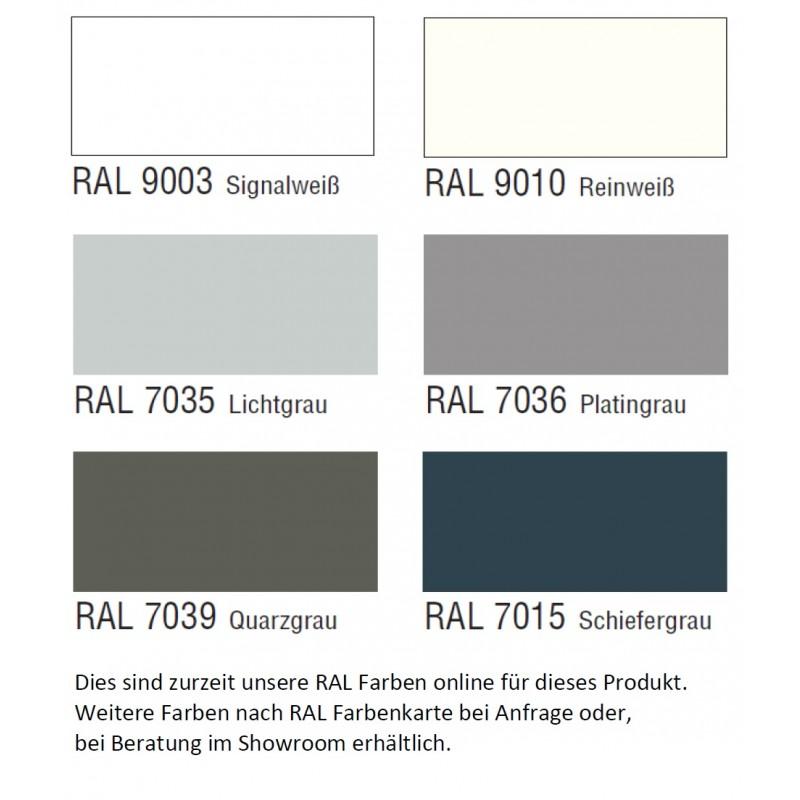 Topo Lifestyle Garda Living Weiss/Grau RAL Farben