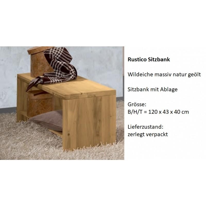Rustico Sitzbank