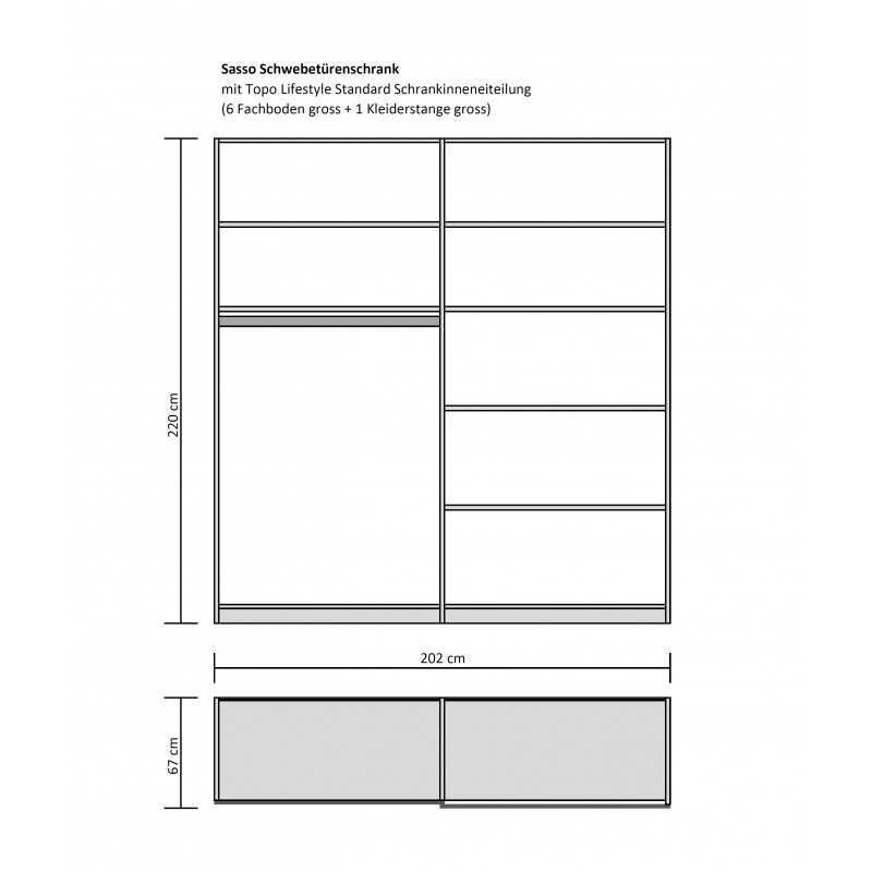 Toritto Schlafzimmer Modular tpls 009