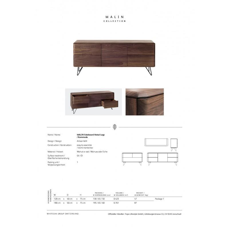 Topo Malin Whiteoak Design Sideboard 05
