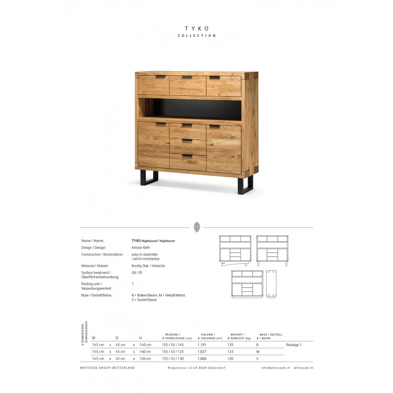 tyko kombi Highboard tpls 010